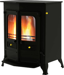 Country 16b mf stove in black