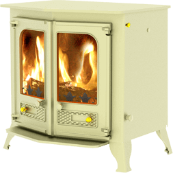 Country 12 stove in almond
