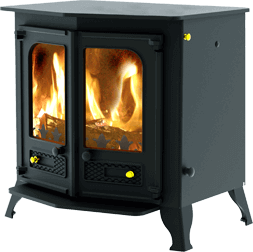 Country 12 stove in blue