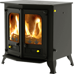 Country 12 stove in gunmetal