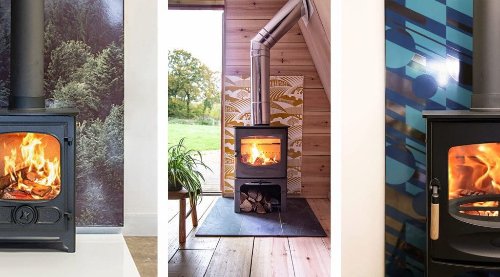 3-images-of-wood-stove-heat-shields